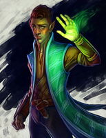 Taelen by daPatches