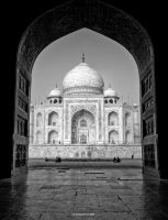 Taj Mahal I by AndrewToPhotography