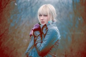 Cold  In something boldness by onami-kc