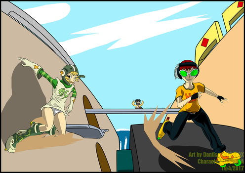 FA-Jet Set Radio tribute by dantiscus