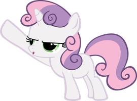 Sweetie Belle - v1 by MoongazePonies