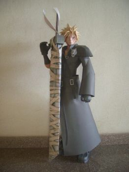 Cloud Strife 2 by Graphite88