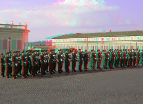 Rome 12 3D Anaglyph by yellowishhaze