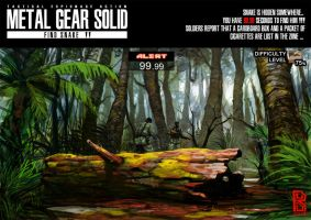 METAL GEAR SOLID - FIND SNAKE - by Darkdux