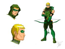 Green Arrow by FabianHofmann