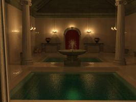 Roman Bath by Sylphane