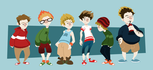 What a bunch of hipsters by S-tygian