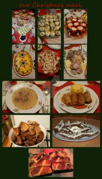 our Christmas meal by Biutz
