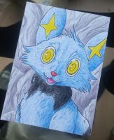 sheinux aceo by BlackLightning95