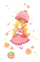 Princess Peach by Ieafy
