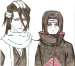Itachi and Byakuya by DevilishMirajane