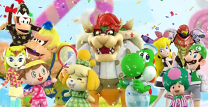 Nintendo characters with costumes by pikachuandpichu106