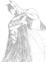 Batman Sketch by SorahShibao