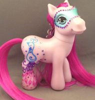Custom G3 Peacock My Little Pony by enchantress41580