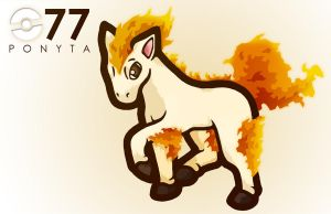 077 - PONYTA - GSEAR by Khanohre