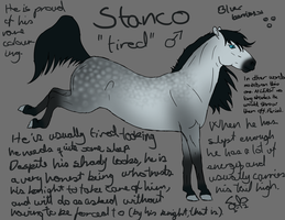Stanco character sheet by Hestenlover