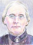 Susan Brownell Anthony portrait by mozer1a0x