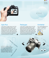 3D photo site try design by repiano