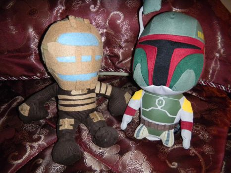 Dead Space: Isaac Clarke Plush by CrazyInsaneJess