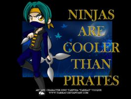 Ninjas are cooler by Tabikat