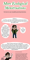 Info Comic - More Ecological Menstruations by NuttyNuti
