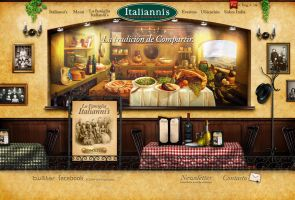 italiannis website by maana00