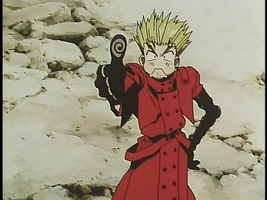 vash the funny guy by cheryleethedragoness