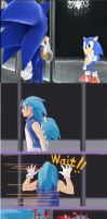 Sonic And Sonic by Tanglili