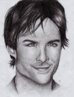 Damon Salvatore / Ian Somerhalder by RomcaS