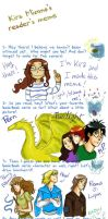 My reader meme by KiraMizuno