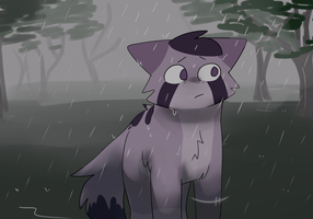 *its raining* by cookiiecats