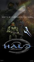 Halo 2 Poster by DANYVADERDAY