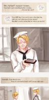 APH: chocolate from a hero by deathbybroccoli