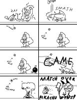 Super Smash Bros. Frustration by doodlegarmander