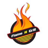 flame n grill logo by tech32