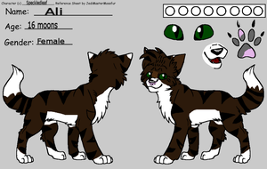 Ali's New Ref by Speckledleaf