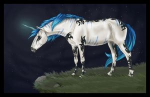 LycanFairy Commission by silverglass19