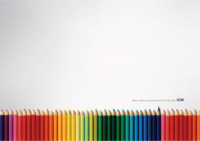 colour pencil by cleongy