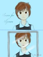 You across the mirror - Flowers for Algernon by Lovely-Tsandy