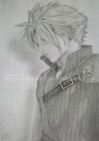 Cloud Strife by DrawingArt23