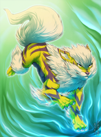 Shiny Arcanine by Kuramuri