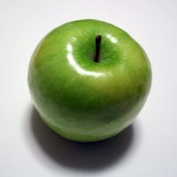 Apple Top View by AiSac