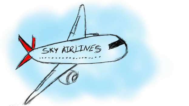 Sky Airlines by skypinar