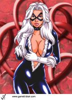 Black Cat 8 by Garrett Blair by Mythical-Mommy