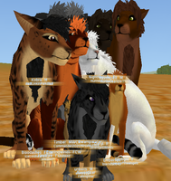 ForestClan Family by NinjaMuffins1998