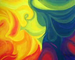 Rainbow Abstract: For Aaila by Squeemishness