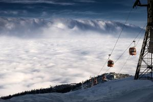 Above the clouds by S7ich