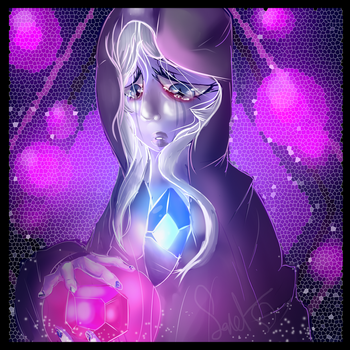 Blue Diamond (Steven Universe) by WarriorCat3042