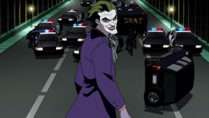 Joker Gets Everyone's Attention by TwoScoopsXD