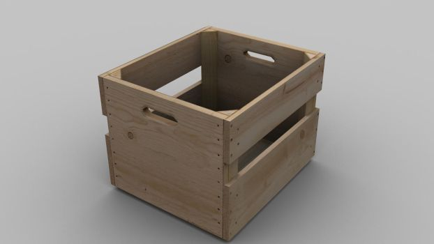 another crate by Arcandio